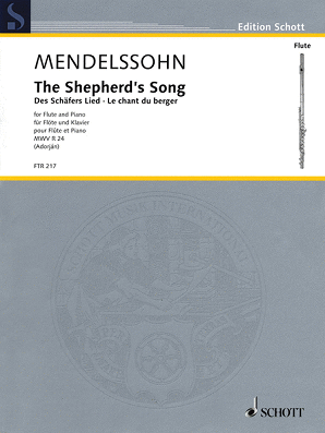 Mendelssohn - Shepherd's Song for Flute and Piano