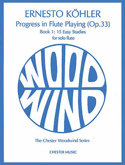 Koehler: Progress in Flute Playing Op.33 Book 1