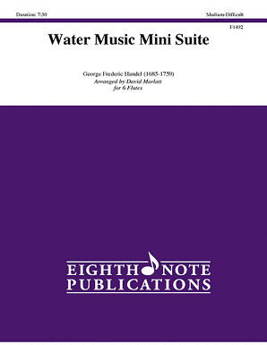 Handel/Marlett - Water Music Mini Suite for 5 flutes