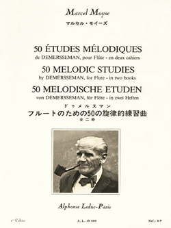 Moyse, Marcel - 50 Melodic Studies After Demersseman, Op. 4 - Volume 1