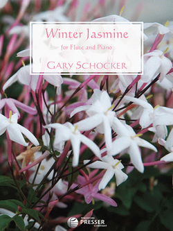 Schocker, Gary  - Winter Jasmine for flute and piano