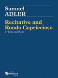Adler, Samuel - Recitative and Rondo Capriccioso