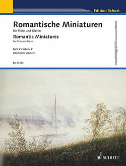 Romantic Miniatures for Flute & Piano Volume 2