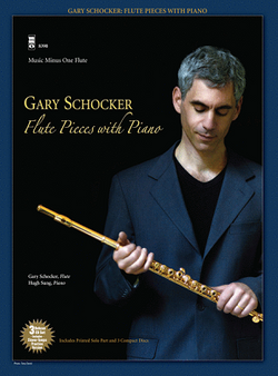 Gary Schocker - Flute Pieces with Piano (Flute Play-Along Book/CD Pack)