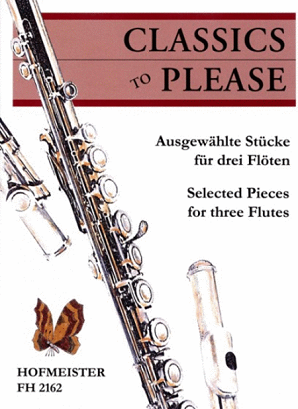 Hoffmeister - Classics to please for three flutes
