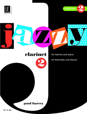 Harvey , P - Jazzy Clarinet Bk 2