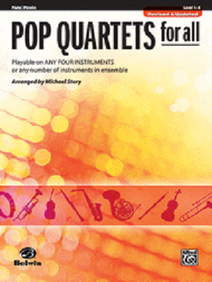 Pop Quartets for All Flute, Piccolo
