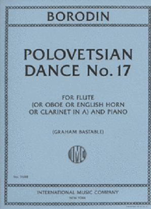 Borodin, Alexander - Polovetsian Dance No. 17 for flute and piano