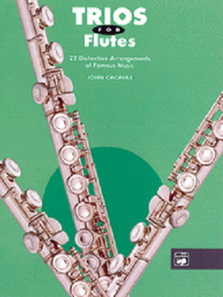 Trios for Flutes By John Cacavas