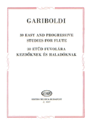 Gariboldi - 30 Easy and progressive studies for flute (EMB)
