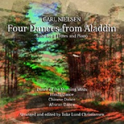 Nielsen -  Four Dances from Aladdin for two flutes and piano