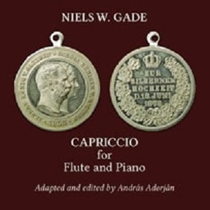 Gade Niels Wilhelm - Capriccio for flute and piano