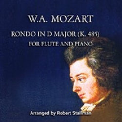 Mozart Stallman Rondo in D Major Two Flutes and Piano