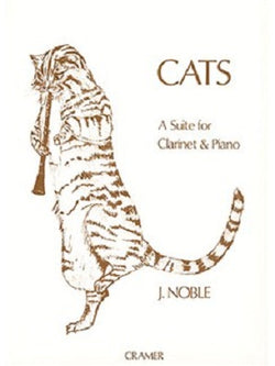 Noble, John - Cats, A Suite for Clarinet & Piano