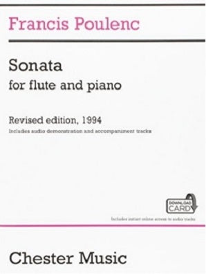Poulenc F - Sonata for Flute And Piano Audio Ed