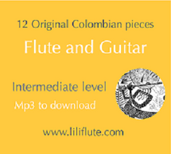 Marulanda, Carmen - 12 Original Colombian pieces for Flute & Guitar
