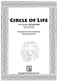Elton John/Tim Rice Arr -  Mclearnon, G - Circle of Life  for flute orchestra