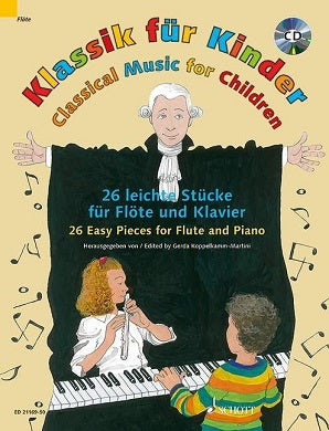 Schott - Classical Music for Children Flute/Piano/CD