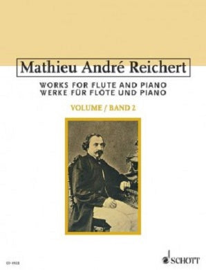 Reichert, Mathieu André - Works for Flute and Piano Vol 2