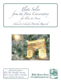 Flute Solos From The Paris Conservatory Edited by Martha Rearick