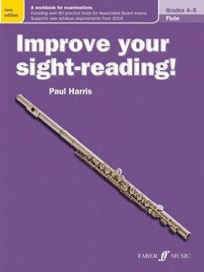 "Harris, Paul - ""New"" Improve your sight-reading! Flute 4-5"