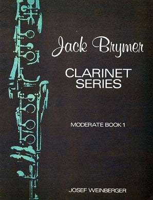 Jack Brymer Clarinet Series Moderate Book 1