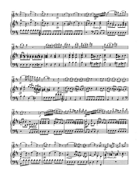 Boccherini, L - Concerto in D major Op. 27 for Flute and Piano (Barenreiter)