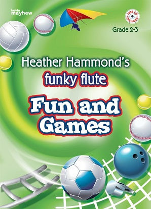 Hammond, H - Funky flute fun and games GR2-3 Bk Cd