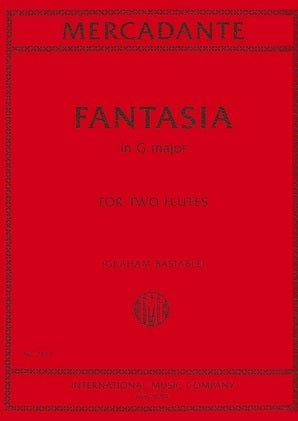 Mercadante - Fantasia in G major for two flutes