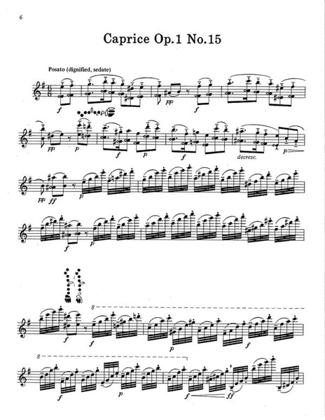 Dick, Robert - Paganini Caprices