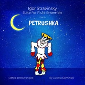 Stravinsky Igor - Petrushka for flute ensemble