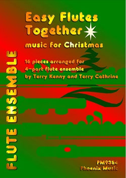 Easy Flutes together music or Christmas  for flute ensemble