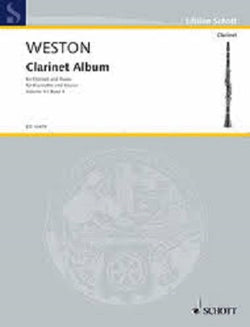 Weston, P - First Clarinet Album Vol 4