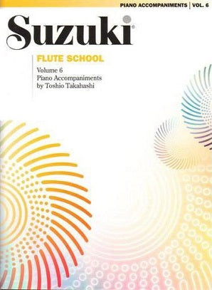 Suzuki Flute School Volume 6 Piano Accompaniment