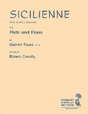 Faure - Sicilienne for flute and piano