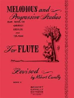Melodious and Progressive Studies for Flute BK 2