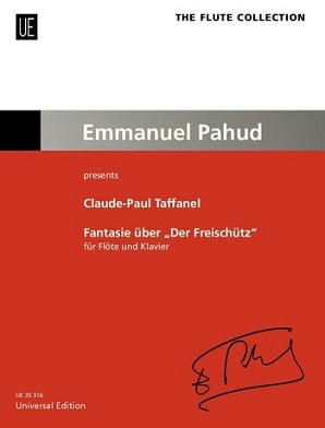 "Taffanel, Claude-Paul - Fantasy on ""Der Freischütz"" by Carl Maria von Weber for flute and piano"
