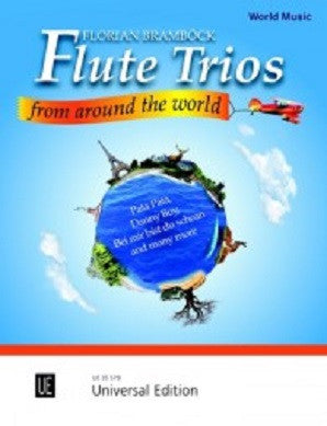 Bramböck; Diverse: Flute Trios from around the World for 3 flutes (Universal)
