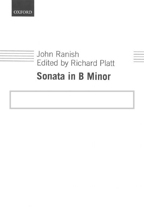 Ranish - Sonata in B Minor Flute/Piano Op 2 No 3