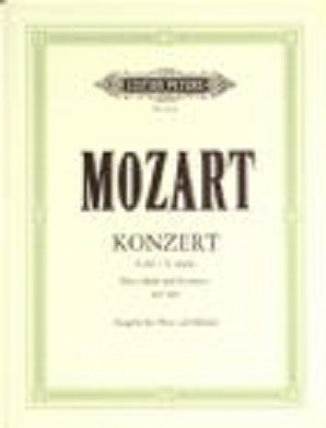 Mozart - Concerto K 299 in C major for Flute, Harp and Piano (Edition Peters)