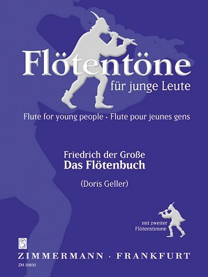 Flute Book Frederick the Great (II) 100 Daily Exercises (Duets)