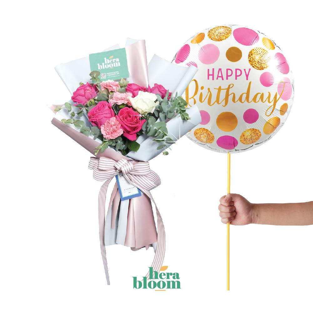 Birthday Choco Bundle - Hera Bloom