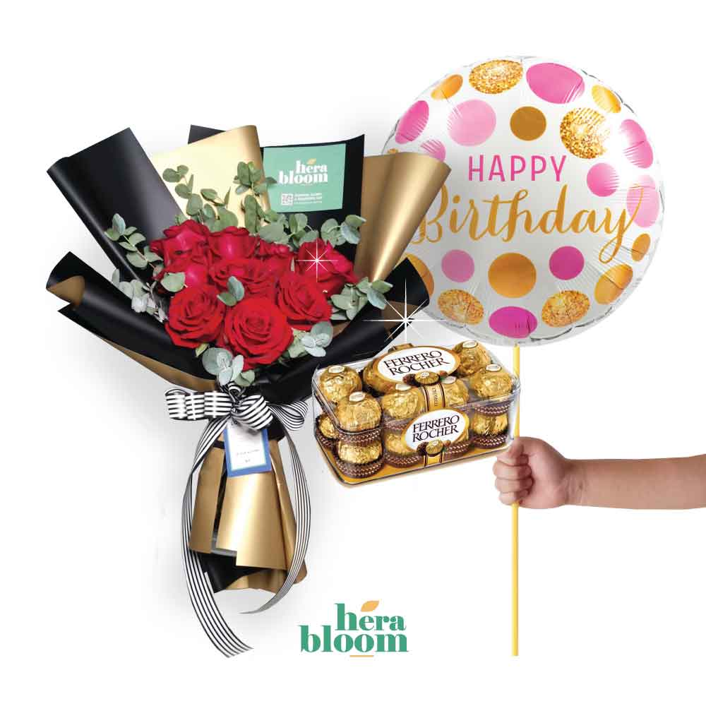 Birthday Choco Bundle 4 - Hera Bloom