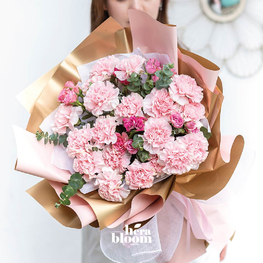 Carnation Mixed Bouquet - Hera Bloom