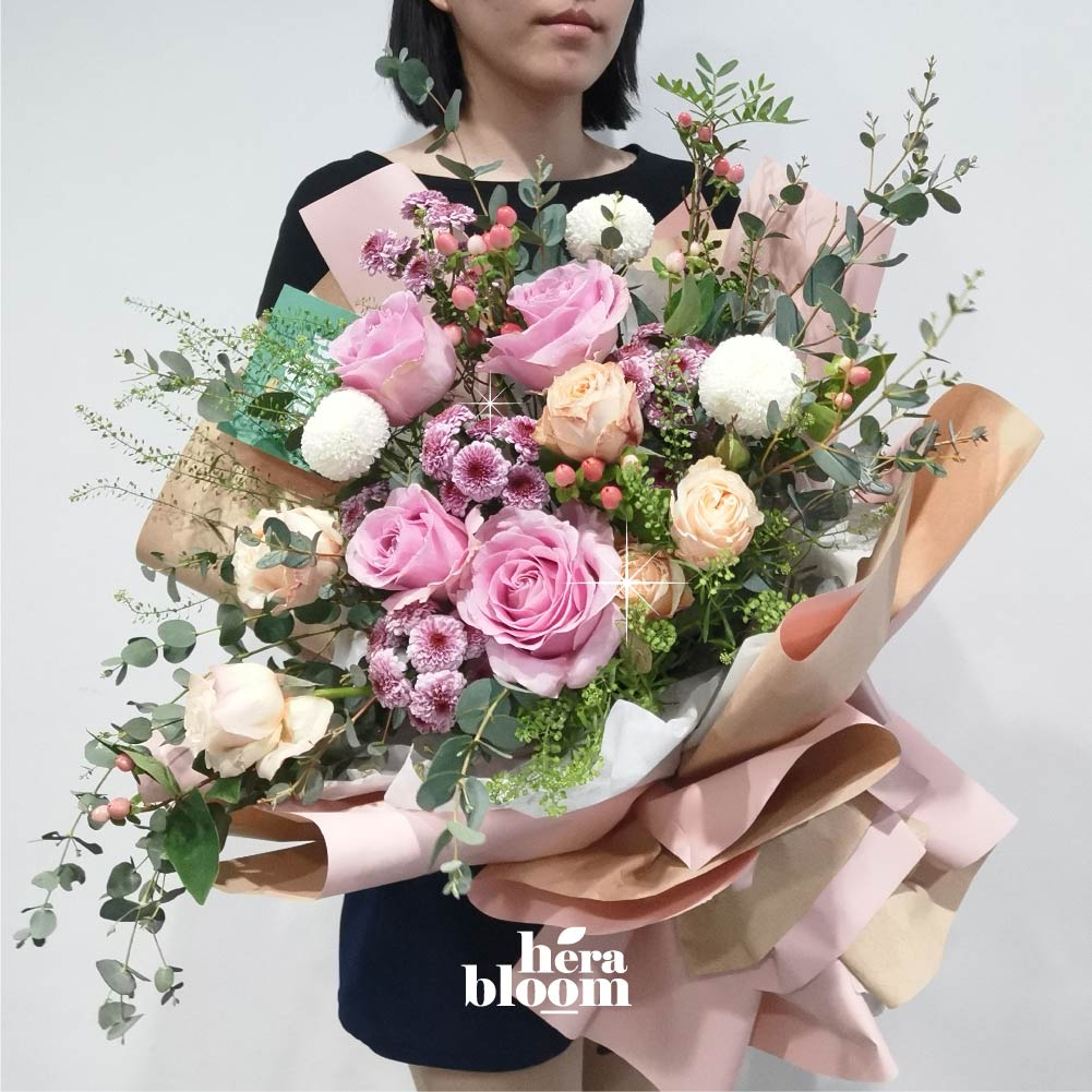 Pink Garden Bouquet - Hera Bloom