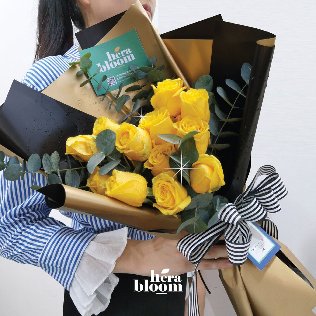 Yellow Rose Bouquet - Hera Bloom