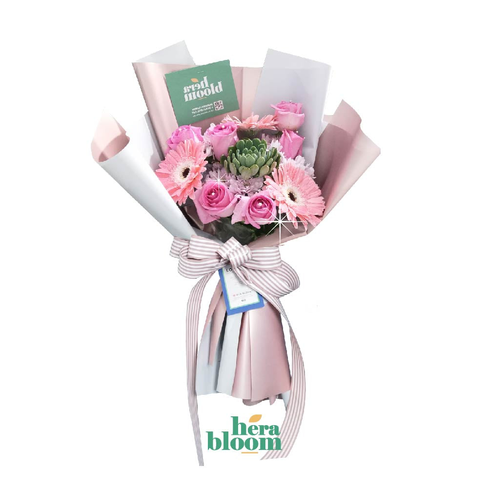 Daisy Rose Mixed Bouquet - Hera Bloom