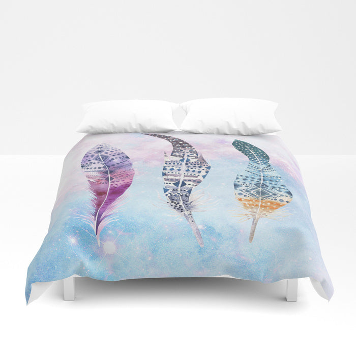 Gypsy Feather Duvet Cover - Duvet Planet