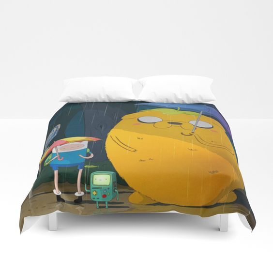Cartoon Style Duvet Cover - Duvet Planet