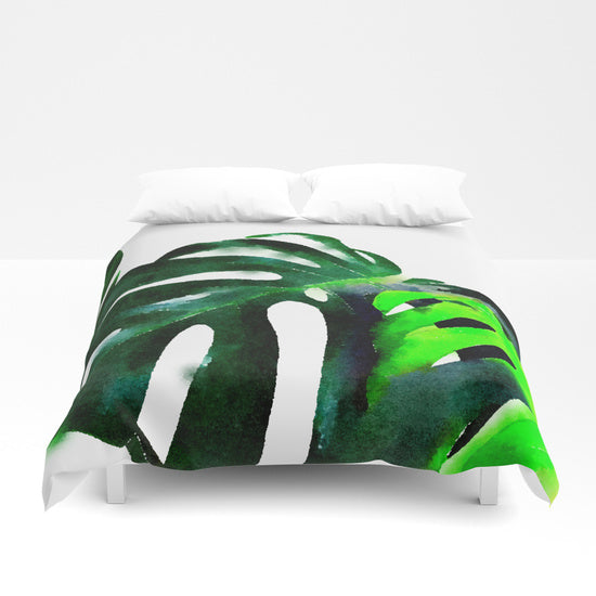 Banana Leaves Duvet Cover - Duvet Planet